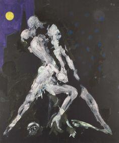 Tango - Hakon Bleken - Norwegian artist Hakone, Trondheim, Paintings I Love, Color Pallets, Pencil Drawings, Art Museum, Contemporary Art, Sketches, Illustration
