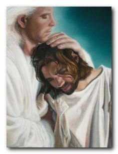 Now it is Jesus' Turn to be Comforted.