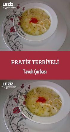 Practical Seasoned Chicken Soup – My Delicious Food - Rezepte Chicken Seasoning, Chicken Soup, Turkish Kitchen, Braids With Extensions, Turkish Recipes, Homemade Beauty Products, Grand Kitchen, Cheeseburger Chowder, Iftar