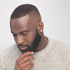 Fade Bigen On The Beard Black Men Haircuts