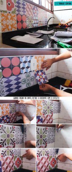 Como renovar la Cocina, ideas para cambiar las manijas de las gavetas de la cocina, puntos para pintar los azulejos y encimeras de la cocina, recomendaciones para pintar las paredes de la cocina y diseños de lámparas y bancas para el desayunador de la cocina.