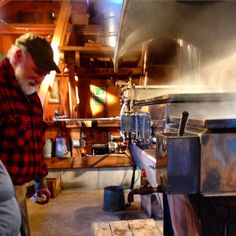 Making Maple syrup at the Great Mountain Forest Norfolk, CT www.manorhouse-norfolk.com