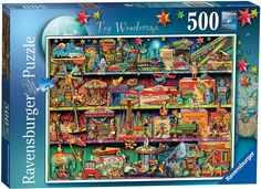 Ravensburger The Sweet Shop Jigsaw Puzzle Disney Puzzles, 3d Puzzles, 500 Piece Jigsaw Puzzles, Creating Games, Math Stem, Puzzle Shop, Wooden Basket, Ravensburger Puzzle