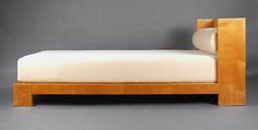 Jean Royère, Daybed made by Gouffe, 1930, 31.5H x 39.5W x 83D inches