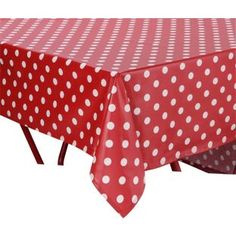 Buy PVC Red Polka Dot Tablecloth at Argos.co.uk, visit Argos.co.uk to shop online for Table cloths, placemats and textile accessories