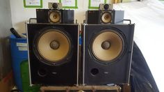 Vintage Pair Technics SB 7000A Linear Phase Speakers by Panasonic Very RARE | eBay