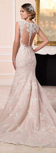 Wedding Dress by Stella York Spring 2016