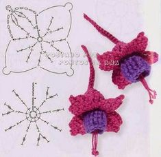 Barbarella fait du crochet: modèles gratuits fleurs et feuilles au crochet