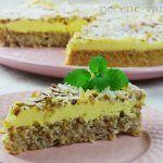 Švédsky mandľový koláč | Pečené-varené.sk Cheesecake, Basket, Scrappy Quilts, Cheesecakes, Cherry Cheesecake Shooters