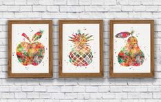 Apple Kitchen Decor At Walmart - Homipet Homey Kitchen, Apple Kitchen Decor, Walmart, Color Schemes, Shabby, Frame, Things To Sell, Home Decor, Decoration