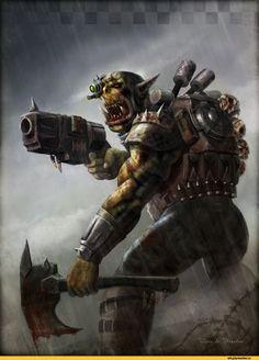 orks,warhammer 40000,фэндомы