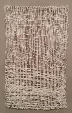 arts and crafts – sheila hicks at sikklema jenkins – Weaving Textiles, Textile Fabrics, Weaving Art, Tapestry Weaving, Loom Weaving, Textile Fiber Art, Textile Artists, Textile Manipulation, Sheila Hicks