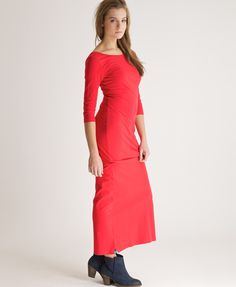 95c9bb8645b Shop Superdry Womens Scoop Back Maxi Dress in Red. Buy now with free  delivery from the Official Superdry Store.