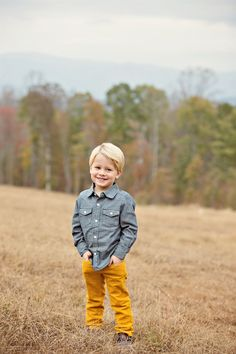 Boy fashion. Toddler style. Gap,Old Navy,TOMS. Fall outfit. What to wear. Conrad Family  Photo By Megan Vaughan Photography.... I love the color of these pants.