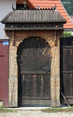 Romania, Windows, Doors, Rustic, Landscape, Building, Bricolage, House, Country Primitive