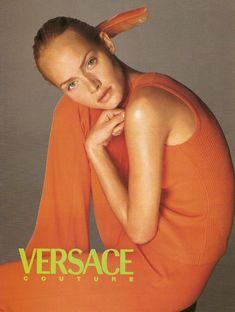 Versace ss 1996 by Richard Avedon - Amber Valletta | The Big Idea. Advertising. The CV |