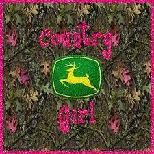 Camo Country Girl w/ John Deere Logo