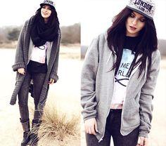 TAKE ME TO NEVERLAND (by Masha Sedgwick) http://lookbook.nu/look/4713405-Shirt-Sweater-Take-Me-To-Neverland