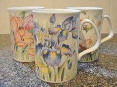 Flowery mugs...