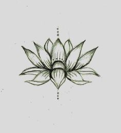 Love this lotus flower sketch❤️ would be a cute tat, actual size