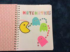 Portada para cuaderno matemáticas con papel adherí le Notebook, Paper Envelopes, The Notebook, Exercise Book, Notebooks