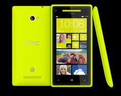HTC Windows Phone 8... nice colours