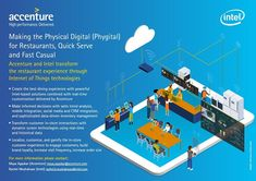 """What is the """"phygital"""" and how do @accenture and #IntelIoT use it to transform restaurant customer experiences? Find out with this…"""