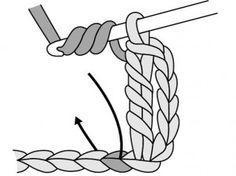 Punto vareta triple o punto alto triple | El blog de trapillo.com