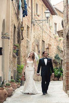 Destination I Do Magazine - Destination Wedding Tuscany // Photo courtesy of Stephanie Collins.