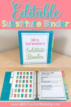 Editable substitute
