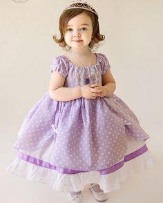 vestidos de princesita sofia rosa - Buscar con Google