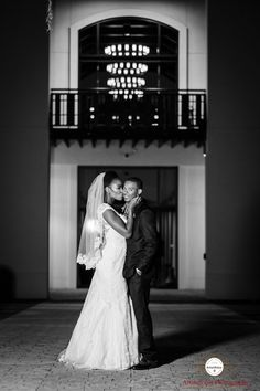 Tallahassee Wedding | Cherrishe and Hosea | Artsinfotos Photography | Visitor Center | missionsanluis.org