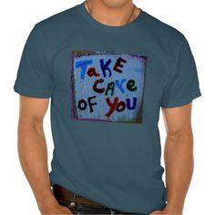 take care of you mens tee shirt