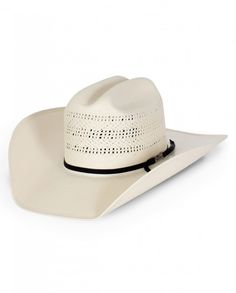 cceeea32 American Hat Company® New Open Weave Cattleman Straw Hat - Fort Brands
