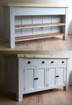 Handmade Solid Wood Island Units | Freestanding Kitchen Units | John Willies Country Kitchens