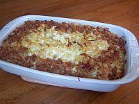 Apple Noodle Kugel Recipe: Noodle Kugel with Apple Crumb Topping
