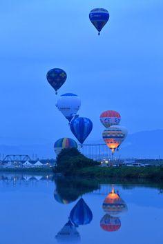 夢ふくらませの画像(写真)Saga International Balloon Fiesta 2014 ,Japan