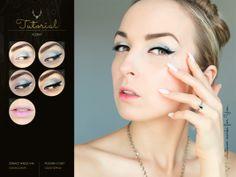 Silver Winter #tutorial #makeup #blogicony