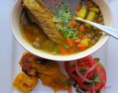 Sopa de Lentejas con Costilla de Cerdo(Lentil Soup with Pork Ribs)