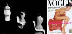 """According to The Independent, the Panton stacking chair, or """"S"""" chair, is officially the sexiest chair ever made.  Available in a range of colours.  Kate Moss does not come included. #Vitra#PantonChair"""