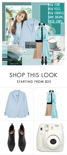 """The Beginning New Days"" by rainie-minnie ❤ liked on Polyvore featuring Acne Studios, FAUSTO PUGLISI, Fujifilm and Chloé"