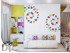 Falmatrica nappaliba, otthon dekoráció inspirációs. Faldekoráció ...