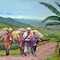 Carlos Valencia, de economista a pintor | Radio Nacional de Colombia