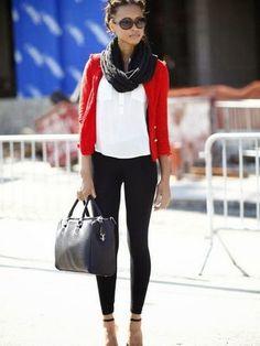 Что носить с леггинсами: с чем можно носить кожаные и другие модели леггинсов