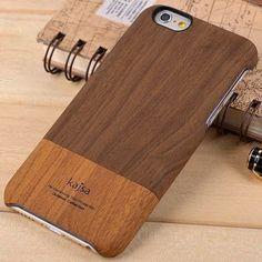 Kajsa Hard Case Wood Pattern Design for iPhone 6