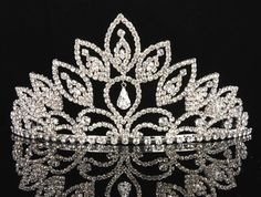 15 quinceanera ring | Sweet 15 Quinceanera Silver Crystal Tiara WT6049 Just Tiara ...