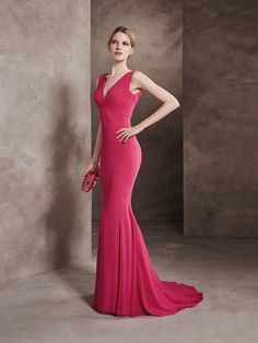 Cocktail dress, open back and draped bodice in gauze