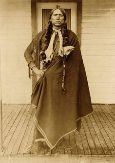 Quanah Parker Not every man can say he is related to an iconic  native American!