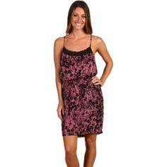 BCBGeneration - Print Tank Dress (Mauve Rose Combo) - Apparel $39.99