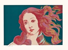 ANDY WARHOL - BIRTH OF VENUS - KUNZT.GALLERY http://www.widewalls.ch/artwork/andy-warhol/birth-of-venus-2/  #Print